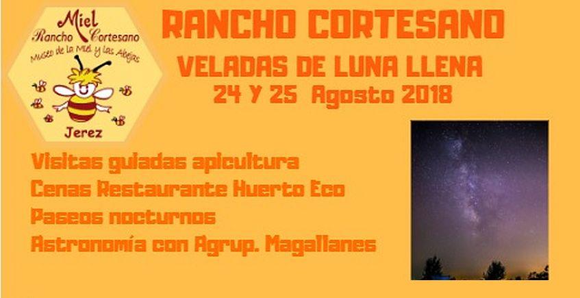24 y 25 de agosto. Jerez. Veladas de Luna Llena en Rancho Cortesano