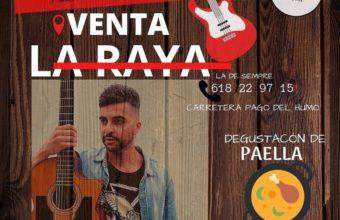 Actuación y paella en Venta La Raya de Chiclana