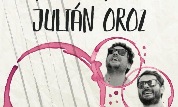 Santi Alonso y Julián Oroz en Bodegas Vinifícate