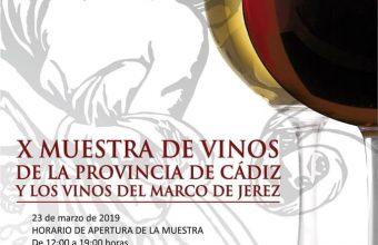 23 de marzo. El Puerto. X Muestra de vinos de Cádiz
