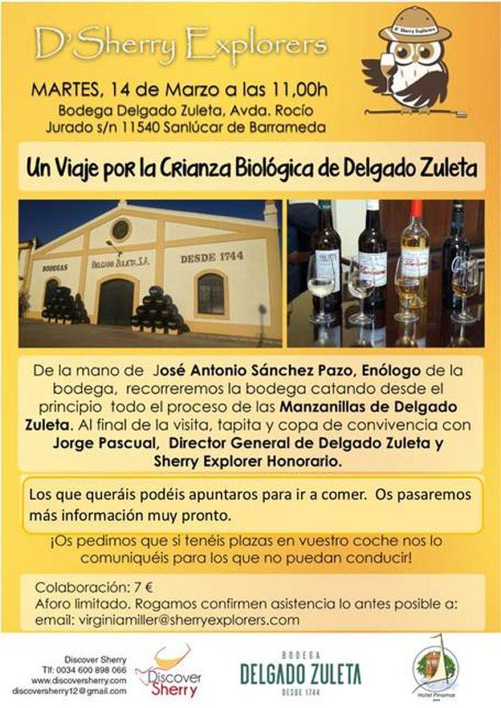 Visita a Delgado Zuleta en Sanlúcar