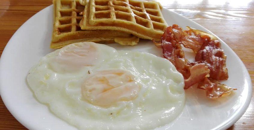 Los desayunos americanos de la Venta El Nene