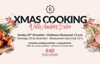 Taller de cocina navideña y almuerzo en La Reserva Club de Sotogrande