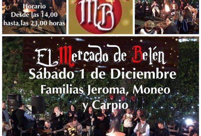 1 de diciembre. Jerez. Zambomba con mercado gastronómico