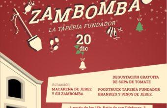 Zambomba en la Tapería Fundador el 20 de diciembre
