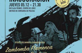 Zambomba de inauguración de Boca Palo de Jerez