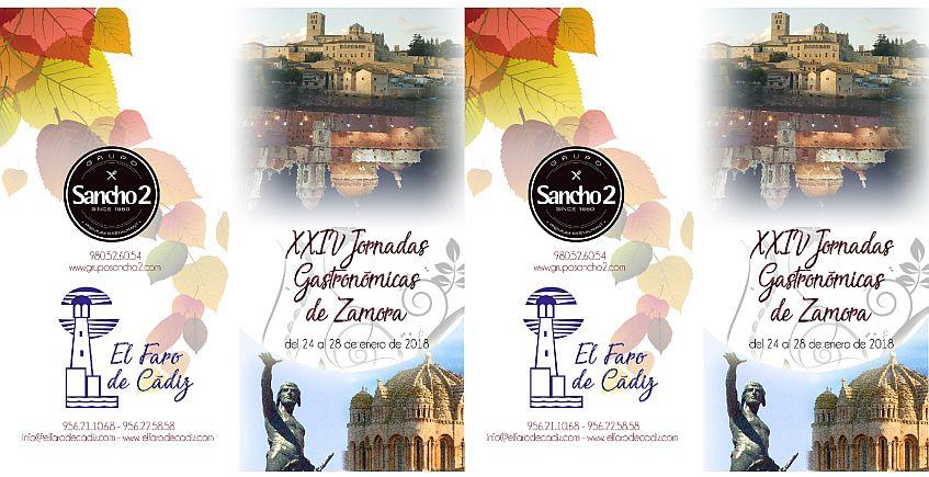 24 al 28 de enero. Cádiz. XXIV Jornadas Gastronómicas de Zamora