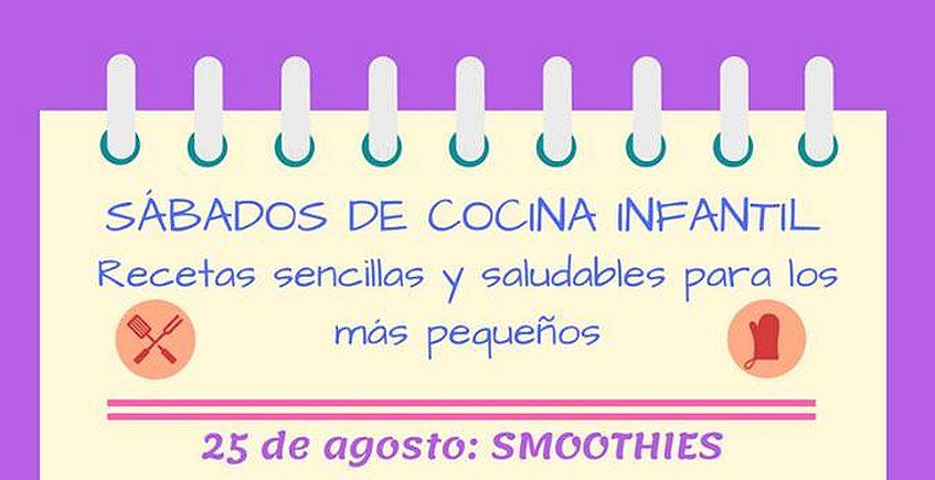 25 de agosto. Chiclana. Taller de smoothies para niños
