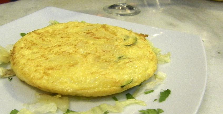 Tortilla a la esencia de Sanlúcar