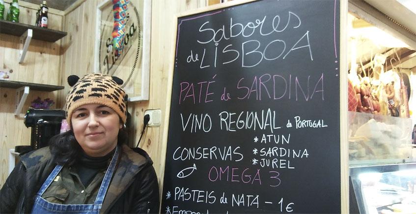 Nuevo puesto especializado en productos portugueses en el mercado de abastos de Algeciras