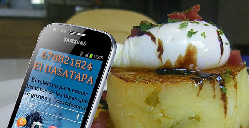 El Colegio Oficial de Tapatólogos crea el uasatapa, un teléfono al que los lectores de Cosasdecome podrán enviar sus descubrimientos de tapas buenas