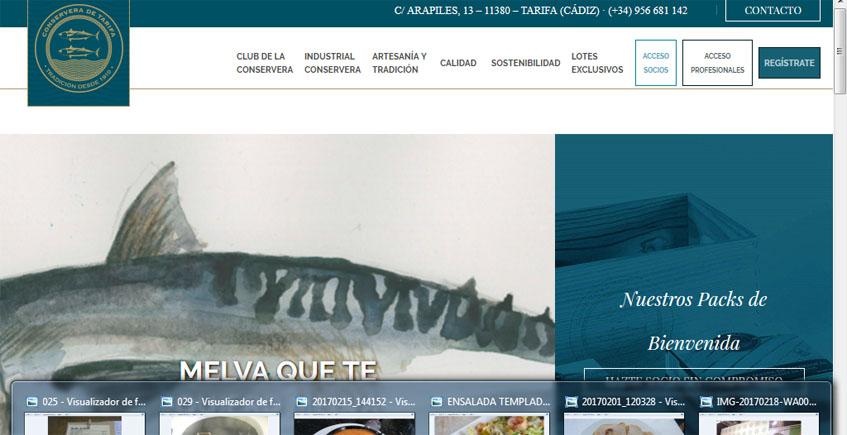 La Conservera de Tarifa crea un club para goumerts
