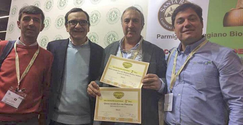 Premio internacional para dos quesos ecológicos de la quesería El Gazul de Alcalá