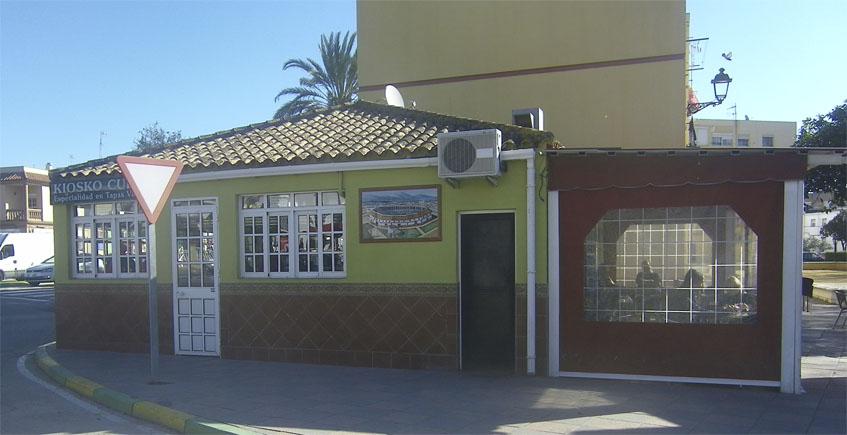Vista exterior del kiosko. Foto: Cosasdecome