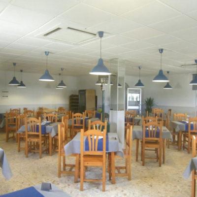 Salón comedor del establecimiento. Foto: Cosasdecome