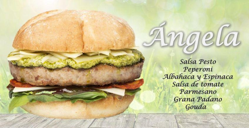 Ángela, nueva hamburguesa con nombre propio de Bienmesabe