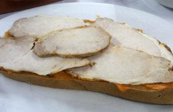 Rebaná de lomo en manteca. Foto: Cosasdecome