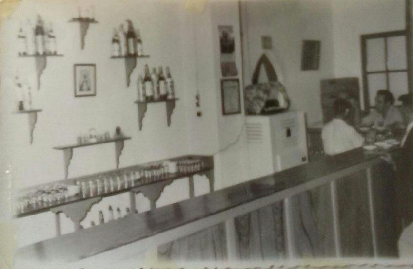 Así era el bar Joselito. La imagen ha sido cedida por los familiares de José Galvez a Paco Medina.