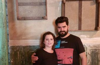 Jesús Recio y Tamara Cansino en su nuevo establecimiento.