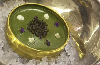 La Royal de Erizos,uno de los platos más interesantes del menú. Foto: Cosasdecome.