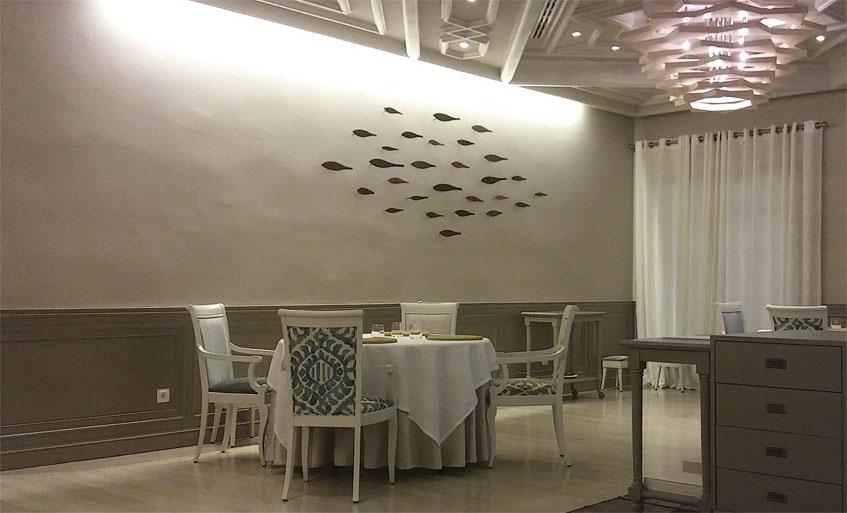 El salón comedor de Alevante. Foto: Cosasdecome