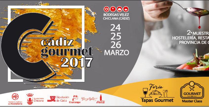 Chiclana acogerá la segunda edición de la muestra Cádiz Gourmet del 24 al 26 de marzo
