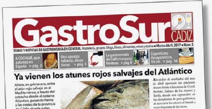 Nuevo número de Gastrosur centrado en el atún