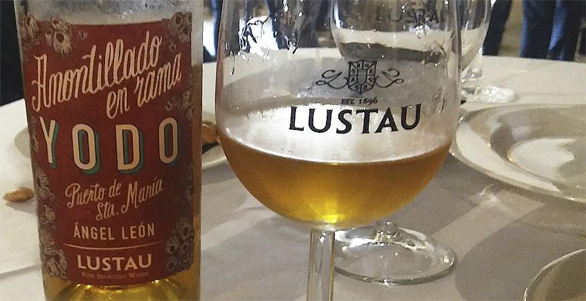 Lustau crea un amontillado especial para servir en Aponiente