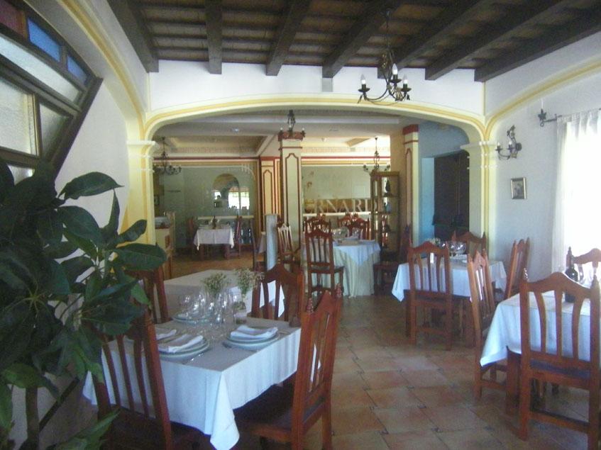 Uno de los comedores de Casa Bernardo. Foto: Cosasdecome