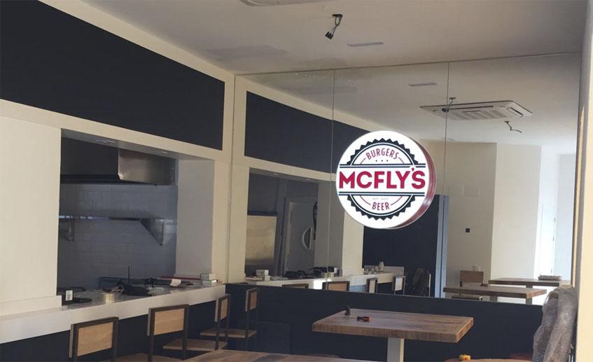 Vista interior del establecimiento. Foto: Cedida por Mc Fly's