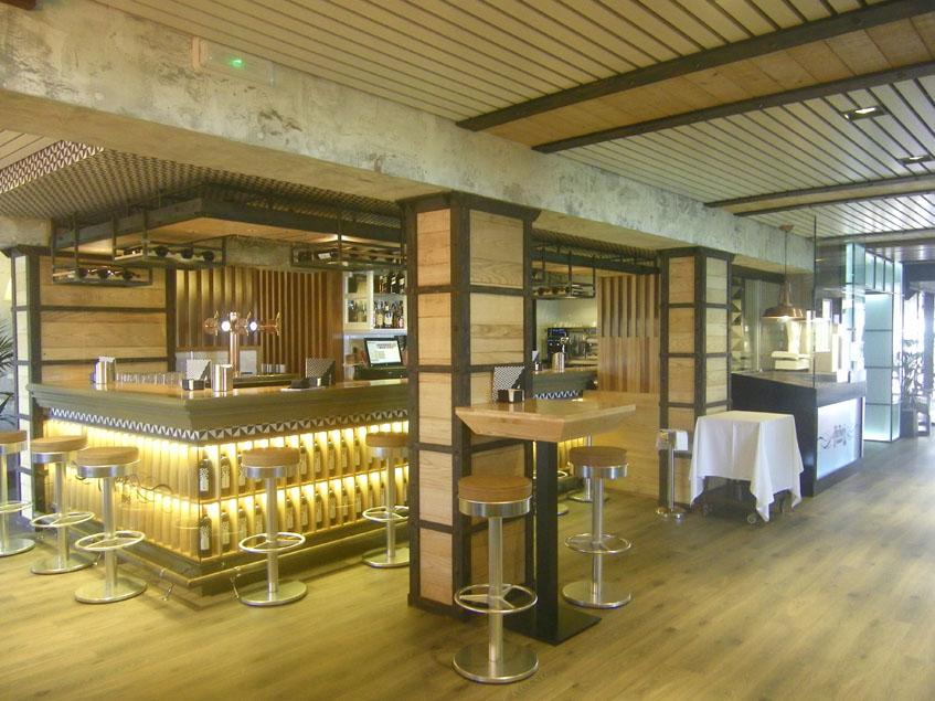 La nueva barra de tapas del restaurante Antonio. Foto: Cosasdecome