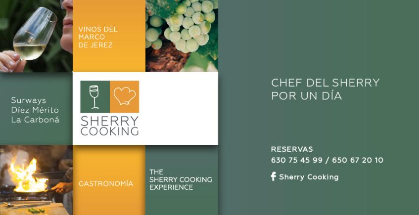 Vuelve la ruta para convertirse en Chef del Sherry por un día