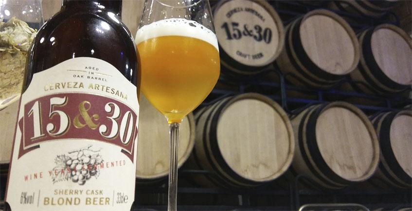 15 & 30, cervezas que maduran en botas envinadas con oloroso