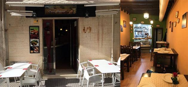 Vistas del exterior y el interior del bar. Foto: Cedida por Manolo Ruiz Torres del blog Cádiz Gusta.