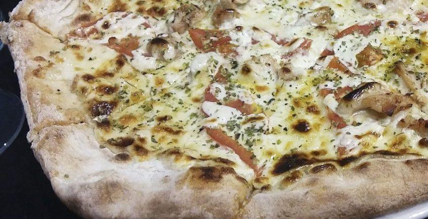 La pizza Ankara de Zafferano pizzería restaurante