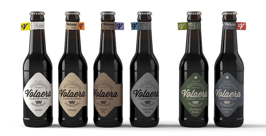 La negra, la rubia y la ecológica: tres nuevas cervezas de Volaera