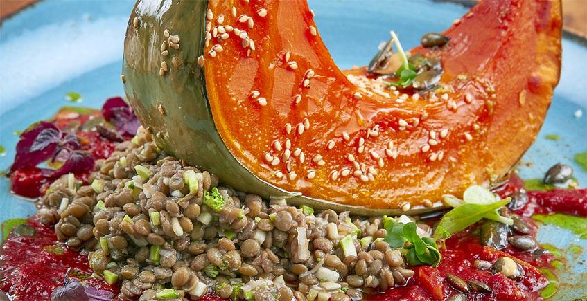 El plato con calabaza. Foto: Cosasdecome