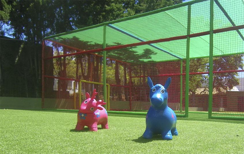 Detalle de la zona de juegos destinada a los niños. Foto: Cosasdecome