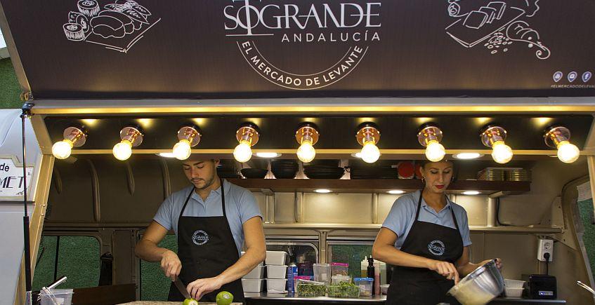 Sotogrande abrirá su Mercado de Levante con siete bares rodantes