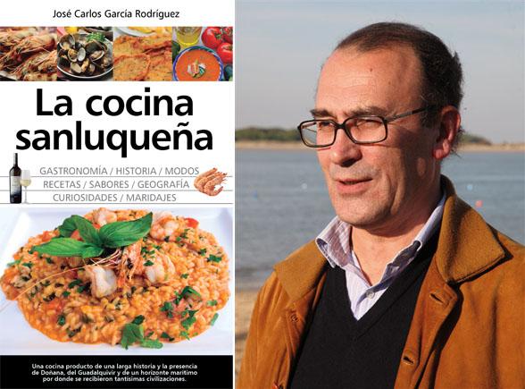 José Carlos García junto a la portada de su nuevo libro. Fotos: Cedidas por José Carlos García.