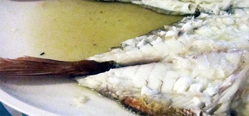 Los lomos de la urta estaban especialmente blancos. Foto: Cosasdecome.