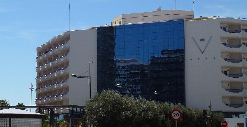 10 de agosto. Cádiz. Cena de verano en el Hotel Playa Victoria