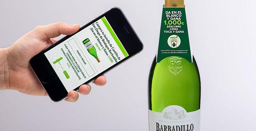 Barbadillo pone un chip a sus botellas para repartir premios