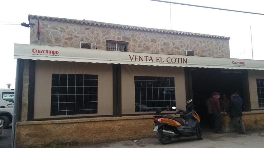 Vista exterior de la Venta El Cotín. Foto: Cosasdecome