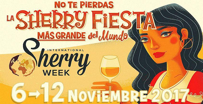La Sherry Week se celebrará del 6 al 12 de noviembre