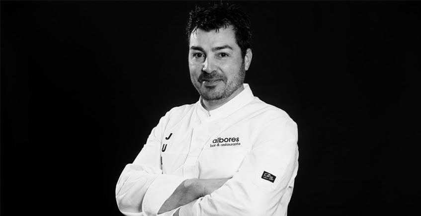 El cocinero Julián Olivares. Foto. Cedida por Fdz.es