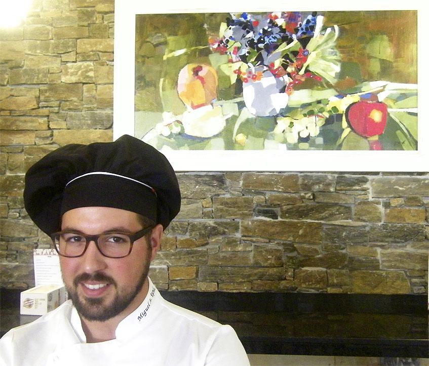 El cocinero Miguel Angel Ramil. Foto: Cosasdecome