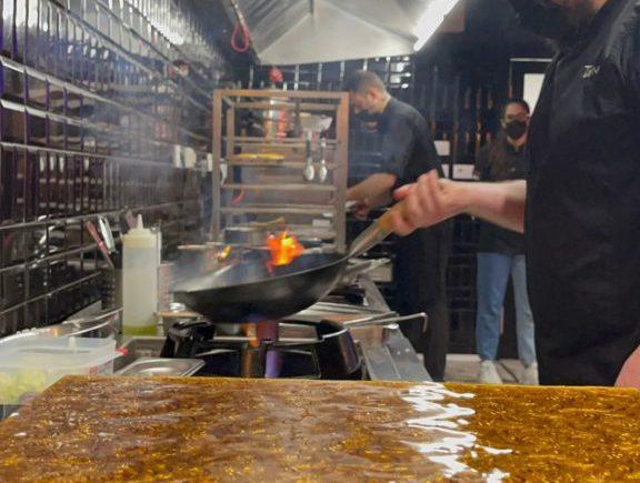 Cocina en directo de Tiemar de Jerez
