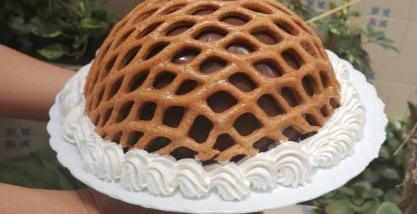 Dulce de praliné en formato tarta de Sobrina