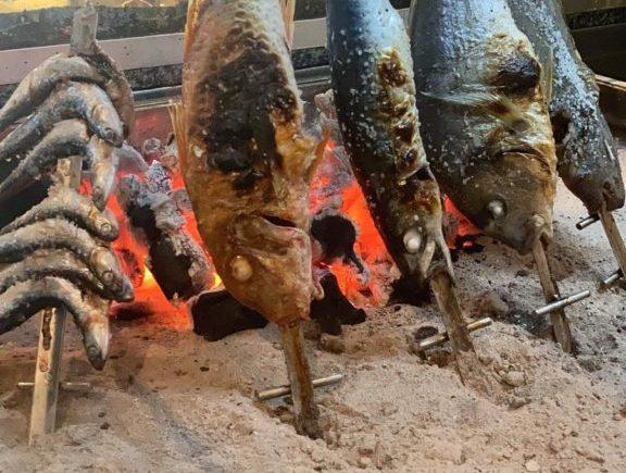 Espetos al carbón de Musalima de Cádiz